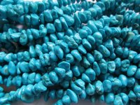 Turquoise side drill magnesite nugget #1841B
