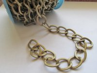 Chain by the foot - Antique Bronze (1 ft) #BOB909
