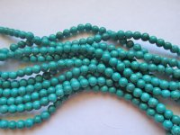Turquoise Howlite Rounds 8mm #1709