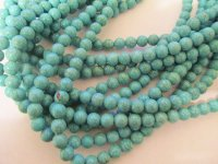 Turquoise rounds 10mm #1714