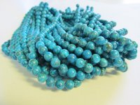 Turquoise Jasper 8mm rounds #1654