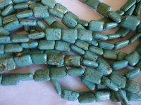 Turquoise Magnesite Rectangle #1004