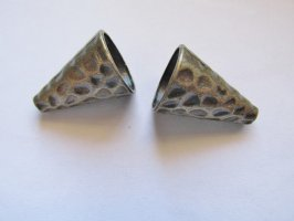 Cones-Antique Brass (pair) #CONE4