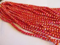 Coral crystal 7mm #1576