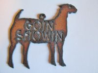 Goin Showin - Goat #ORN-BY014-B
