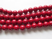 Maroon Glass Rounds # 1649