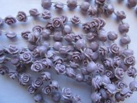 Lavender Flower beads 11mm #1782