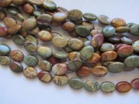 Brown/Green/Tan Picture Jasper #1713