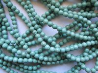 Turquoise Rounds 8mm #1786