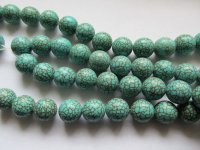 Turquoise rounds 14mm #1728