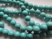 Turquoise rounds 14mm #1727