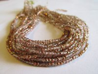 Copper crystal beads 2mm #1599