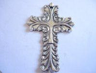 Cross Large antique silver #MP2
