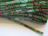 Serape Cording 6mm - Green (1 FT)