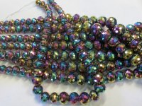 Multi Colored Graduated Crystal Beads # 1700