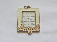 Angel Picture Frame Pendant #HU13-67
