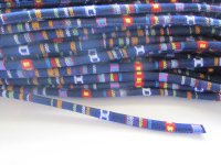 Serape Cording 6mm - Blue (1 FT)