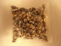 Silver and gold mix bag of beads #SGM