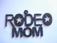 Rodeo mom pendant #SY016