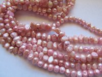 Pink Fresh water pearls 8mm #1459