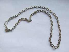 "Necklace 20"" Antique Silver Chain #RCH-2"