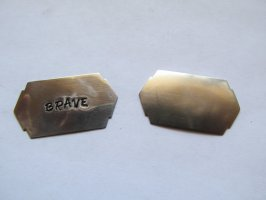 Blank for stamping - Nickle silver - #SWS-100
